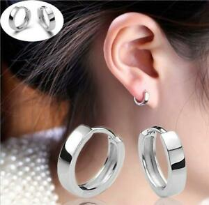 Kleine-Klapp-Creolen-echt-Sterling-Silber-925-Damen-Ohrringe-Kreolen