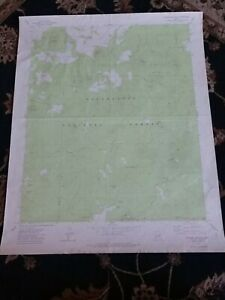 Large-22x28-1977-Topo-Map-Sponseller-Mountain-Arizona-Sitgreaves-Forest