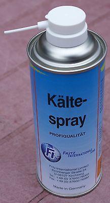 Kältespray Eis-Vereisungs-Spray Kühlspray bis -45° kühlend 400ml Kälte Spray