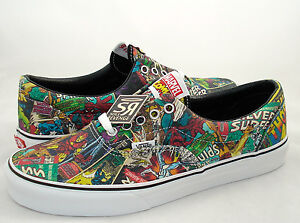New-Mens-Vans-Era-AVENGERS-Shoes-Marvel-Skate-Iron-Man-Thor-Spider-Hulk-Comics