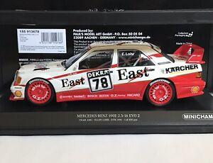 Minichamps 155 913678 Mercedes 190E 2.5-16 EVO 2 E.Lohr Team AMG DTM 1991 1:18 - Bremen, Deutschland - Minichamps 155 913678 Mercedes 190E 2.5-16 EVO 2 E.Lohr Team AMG DTM 1991 1:18 - Bremen, Deutschland