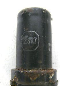 RCA-12SA7-USA-1-Stueck-Ungetestet-Roehre-Tube-Rar-Blau-84