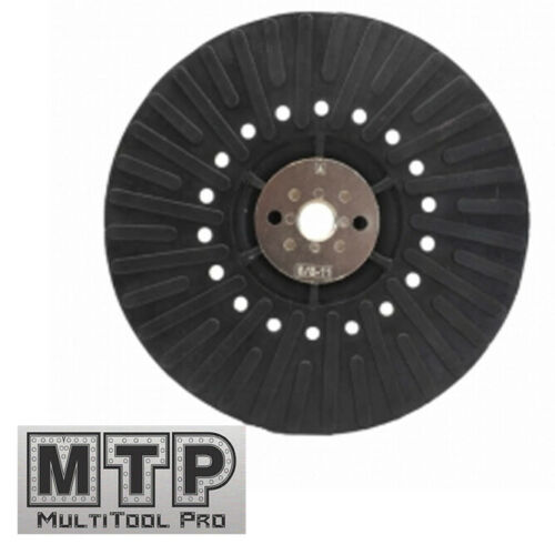 """7/"""" x 5//8/""""-11 Resin Fiber Disc Backing Pad with Lock Nut for Angle Grinder 172mm"""