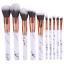 10pcs-Marble-Kabuki-Makeup-Brushes-Set-Blusher-Face-Powder-Foundation-Eyeshadow