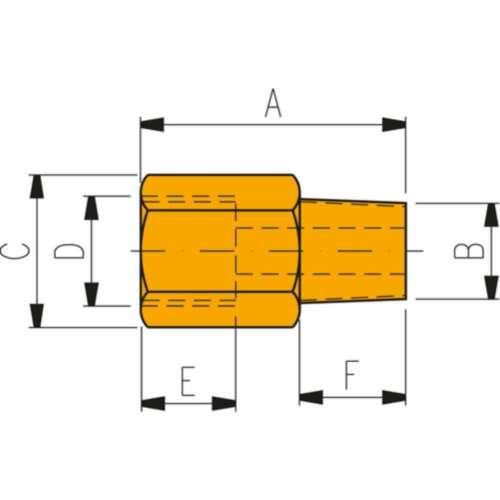 ENERPAC Hochdruckverschraubung FZ 1055 Reduzierstück