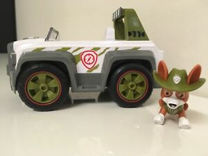 PAW-Patrol-Tracker-s-Pull-Back-Explorer-Vehicle-amp-Figure-Sounds-Set-Pup-HTF-Rare