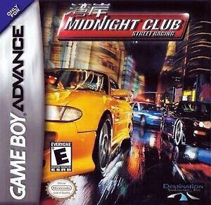Midnight Club Street Racing - Nintendo Game Boy Advance