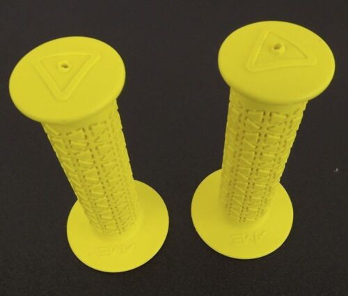 New AME Rounds Bicycle BMX Grips Old School BMX Made In The USA Yellow