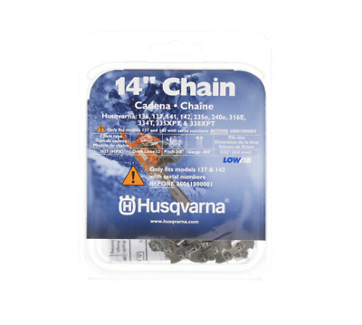 """STIHL PD3 SAW CHAIN FITS HUSQVARNA 135,137,140 14/"""" 3//8 .050/"""" 52DL CARBIDE TIP"""