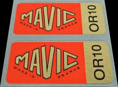 Mavic OR10 Wheel Decals Mavi603 1 Pair
