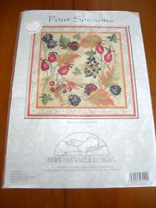 DERWENTWATER-DESIGNS-COUNTED-CROSS-STITCH-KIT-NIP-034-Four-Seasons-034
