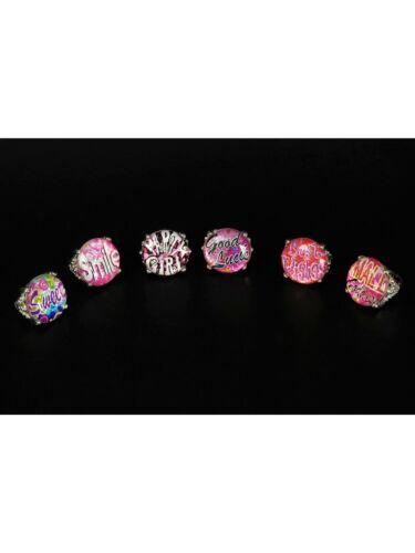 Design-Ring mit Sprüchen Karneval Party Accessoires