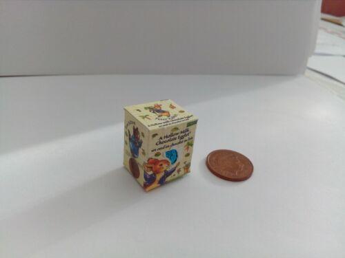Scala 1//12-Uovo di Pasqua PETER RABBIT PER Dollshouse solo scopo di visualizzazione