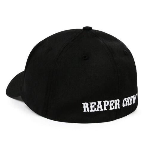Reaper Crew Fitted Baseball Cap Hat Adult