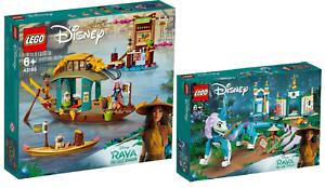 LEGO-Disney-43185-Bouns-Boot-43184-Raya-und-der-Drache-Sisu-N3-21-VORVERKAUF