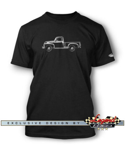 Multiple Colors and Sizes 1951-1954 Chevrolet Pickup 3100 T-Shirt for Men
