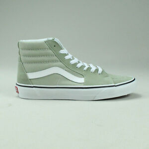 ec017b8bc0c0 Vans Colour Theory Sk8 Hi Trainers Shoes in Sage in UK Size 4