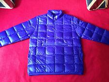 Abbigliamento FOLK Uomini Giù Cappotto Viola Boom Boom Puffa Pieghevole Super Taglia 3 (M) NUOVO CON ETICHETTA