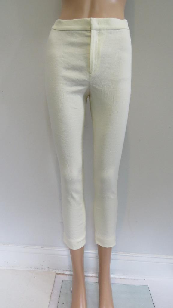 NWT Isabel Marant Ecru 'Pantalon Lindy' Pants, Sz F36,  580