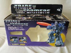 Vintage G1 Transformers Galvatron, MIB,Complete,Unused Stickers,Electronics Work