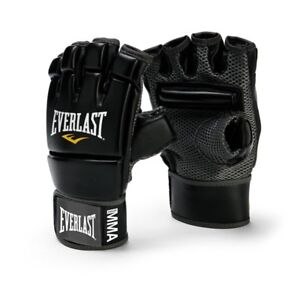 Everlast-Evercool-MMA-Kick-Boxing-Gloves-Black-4402B