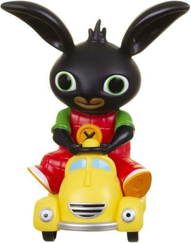 Bing/'s Squeaking Talkie Taxi CBeebies Push Along Toy Car