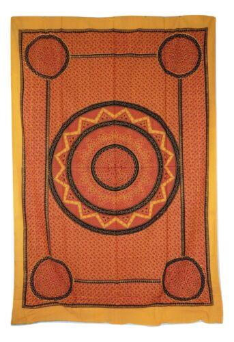 *Beautiful* Indian Classic Mandala Floral Print Single Throw 140 x 210 cm