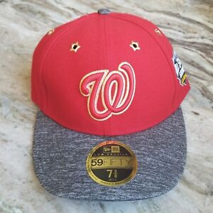 bdae403a209 2016 MLB All Star Game Washington Nationals New Era 59FIFTY Fitted ...