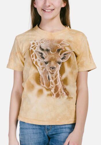 The Mountain Newborn Giraffe Animal Pet Zoo Mother Kids T Tee Shirt 154272