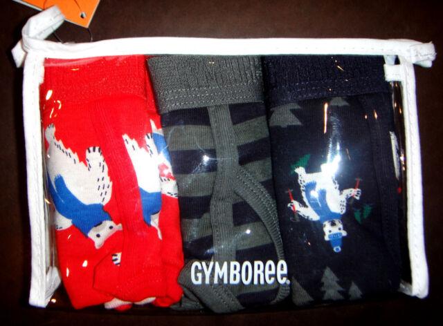 Gymboree 3PAIR briefs underwear NWT boy 2T 3T 3 4 5 6 7 8 10 12 UPICK