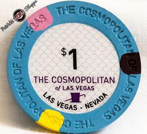 $1 ONE DOLLAR POKER GAMING CHIP PARK MGM HOTEL CASINO LAS VEGAS NEVADA NEW
