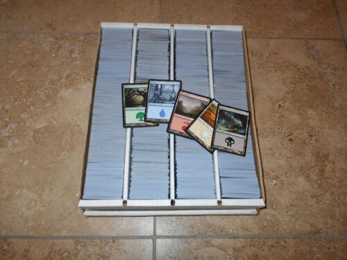 2000 Basic Land Lot - Black Bordered Only - Collection Set - Magic MTG FTG