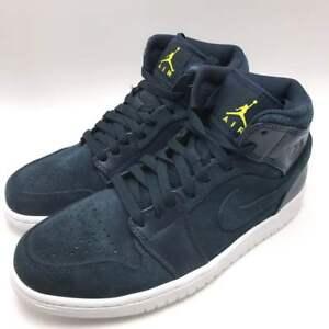 Air Nike Jordan Basketball Armory Mid 1 Navywhite Shoes Men's ZBBqw4O