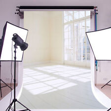 Bright Indoor French Window Photography Backgrounds 5x7ft Vinyl Photo Backdrops
