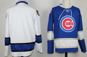 chicago cubs hockey jersey