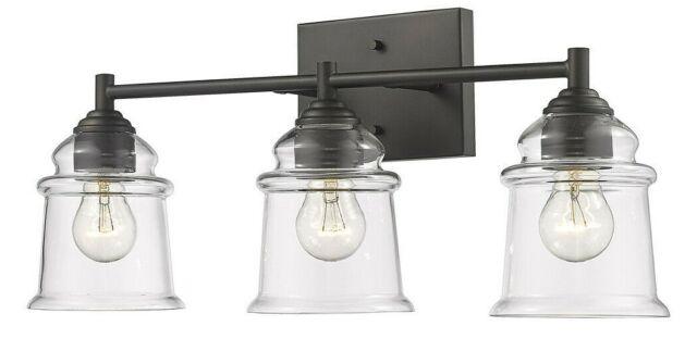 Vanity Bronze Bathroom Light Fixture