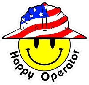3-Happy-Operator-Smiley-USA-Hardhat-Oilfield-Helmet-Toolbox-Sticker-H879