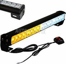 18 inch LED White Amber Yellow Bar Emergency Truck Strobe Flash Light Warning