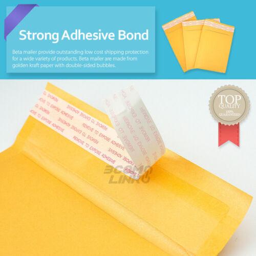 "200 #000 4 x 8 Kraft Bubble Padded Envelopes Mailers Shipping Bag 4/""x8/"""