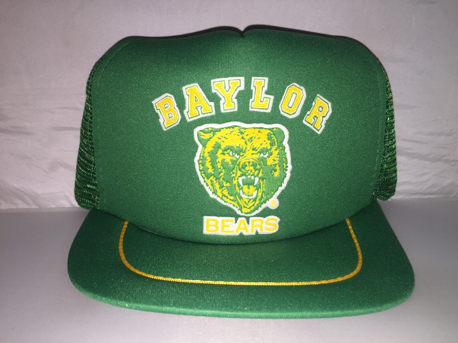 competitive price 815a7 8881f ... coupon code for vtg baylor bears snapback trucker hat cap rare 90s  trucker snapback texas ncaa