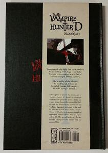 The Art of Vampire Hunter D: Bloodlust IDW Artbook Hardcover