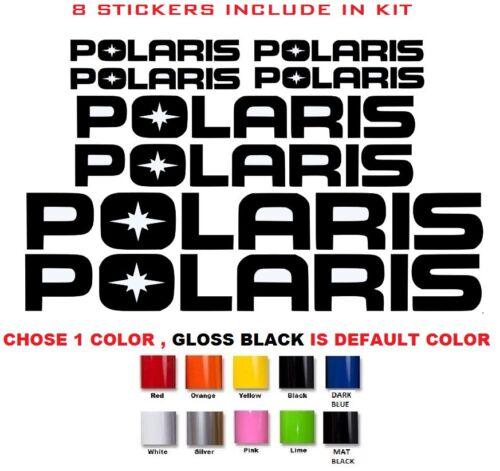 #478 POLARIS RZR 800 850 1000 570 SPORTSMAN XP QUAD STICKERS DECALS