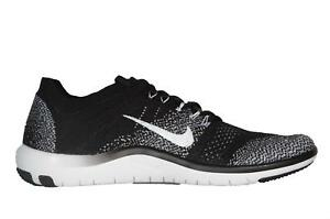584ac7650df7a Image is loading Womens-NIKE-FREE-FOCUS-FLYKNIT-2-Black-Running-