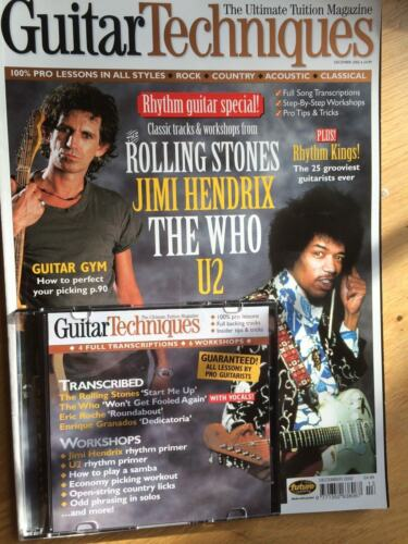 December 2002 Guitar Techniques magazine and CD