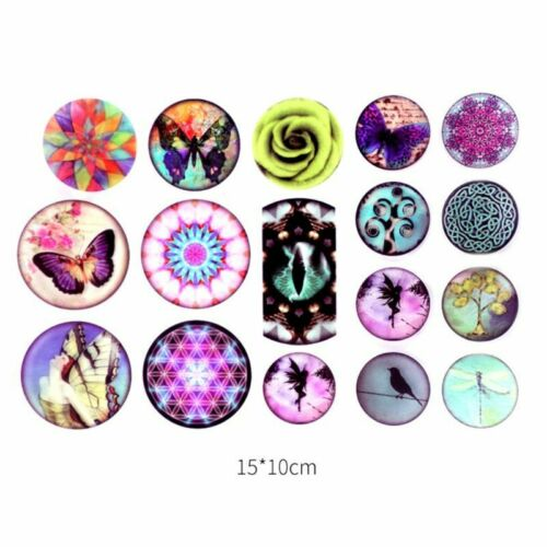 Epoxy Resin DIY Filling Material Stickers UV Crystal Silicone Molds Making Craft