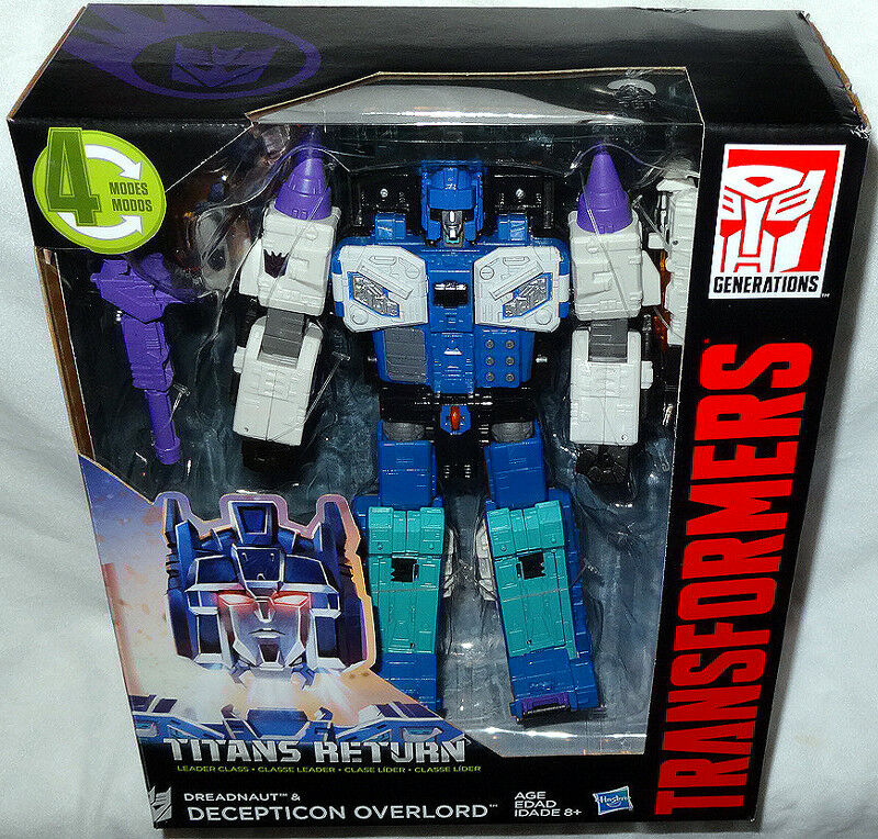 Transformers Titans Return Dreadnaut & Overlord Action Figures MIB Leader Class