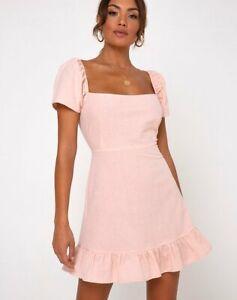 MOTEL-ROCKS-Syami-Dress-in-Peach-XS-MR57