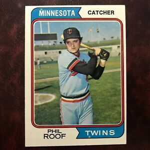 1974-Topps-Set-PHIL-ROOF-388-MINNESOTA-TWINS-NR-MINT-HIGH-GRADE