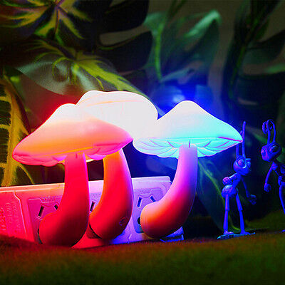 Beauty Night Light Lava Lamps Led Small Portable Mushroom Lamp Bedside Wall