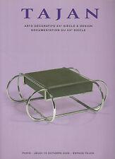 Tajan 20th Century Furniture Design Art Deco French ceramic Lurçat cazaux lurcat